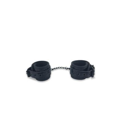 Btb Fetish Wrists Cuffs - kajdanki na nadgarstki, czarne