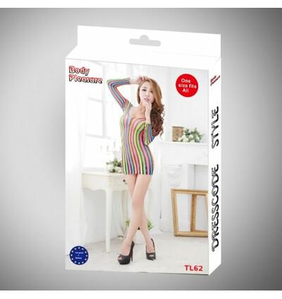 Body Pleasure Colorful Tl62 - sukienka, multikolor
