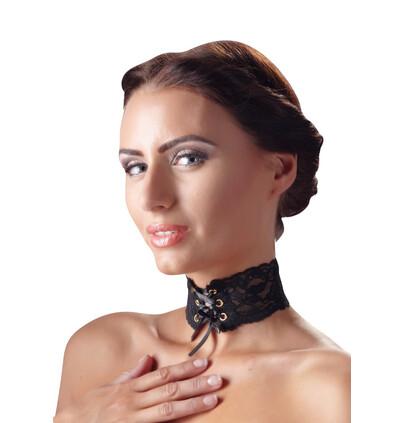 Cottelli Halsband Spitze-Obroża na szyję
