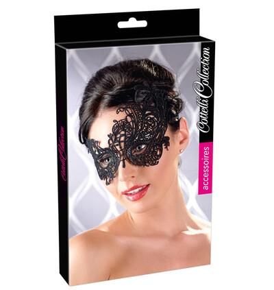 Cottelli Maske Stickerei 02-Maska na twarz