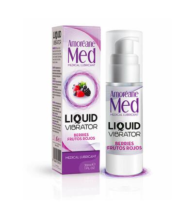 Cnex Liquid Vibrator Berries 30Ml  - Lubrykant jagodowy