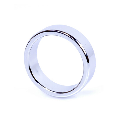 Boss Series Metal Cock Ring Large - metalowy pierścień erekcyjny