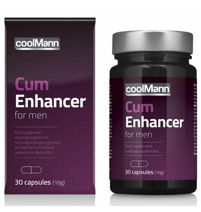 Cobeco Coolmann Cum Enhancer (30 Caps) - Kapsułki poprawiające jakość nasienia