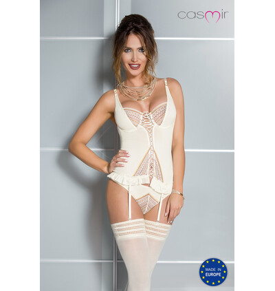 Casmir Connie Corset - Gorset, Kremowy
