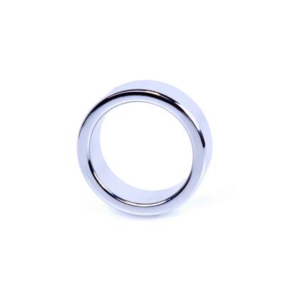 Boss Series Metal Cock Ring Small - metalowy pierścień erekcyjny