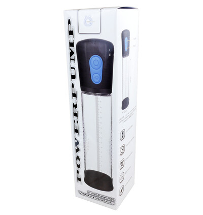 Boss Series Powerpump Electric Vacuum Pump - Pompka powiększająca penisa