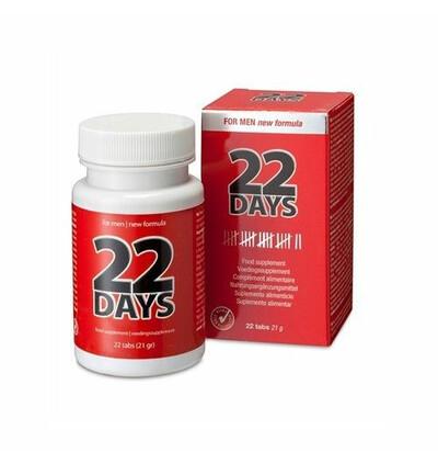 Cobeco 22 Days Penis Extention (22 Tab) - Tabletki stymulujące dla panów