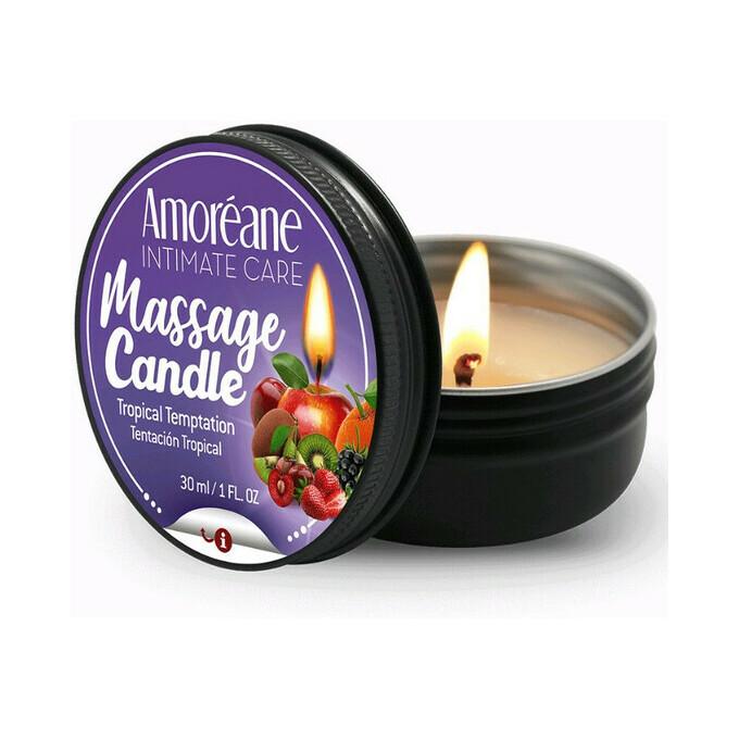 Cnex Massage Candle Tropical Temptation 30Ml - świeca do masażu