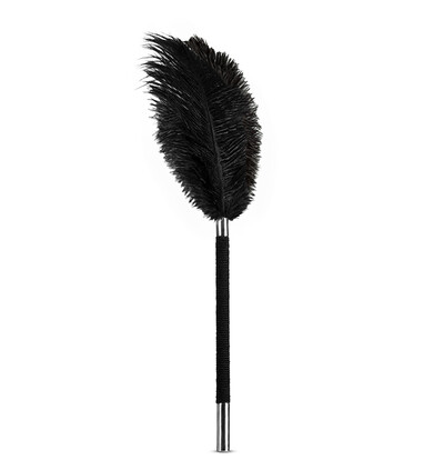 Blush Noir Soft Feather Tickler Black - piórko do łaskotania