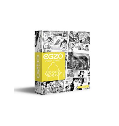 EGZO Bee`S Knees - Prezerwatywa 1szt ze specjalnymi wypustkami