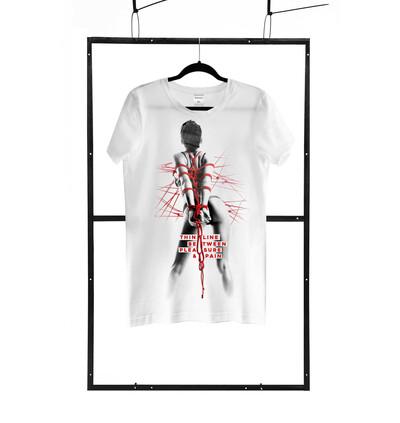 Demoniq TShirt Men 09 - Męski tshirt, Biały