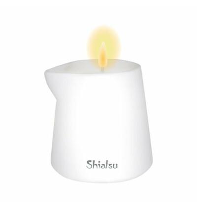 HOT Shiatsu Massage Candle Raspberry & Vanilla Cream 130G. - Świeca do masażu