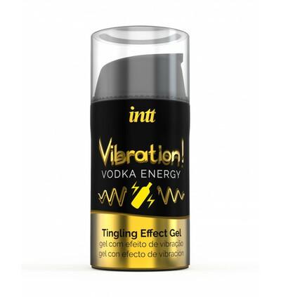 INTT Vibration Vodka 15 Ml - Żel stymulujący dla par, rozgrzewający