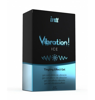 INTT Vibration Ice 15 Ml - Żel stymulujący dla par, chłodzący