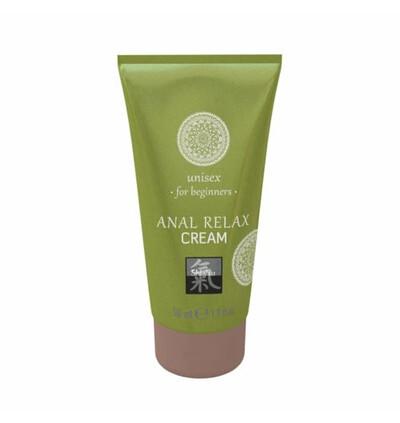 HOT Shiatsu Anal Relax Cream 50Ml. - Krem rozluźniający do seksu analnego