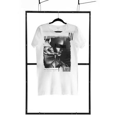Demoniq TShirt Men Regular 01 - Męski tshirt, Biały