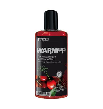 JoyDivision Warmup Cherry, 150 Ml - Rozgrzewający olejek do masażu, wiśniowy