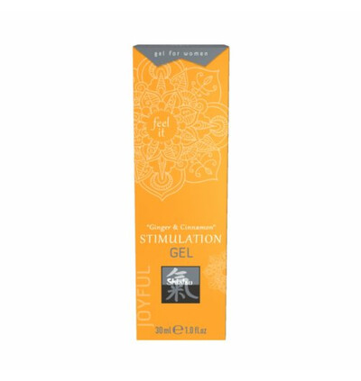 HOT Stimulation Gel Ginger & Cinnamon 30Ml.For Women - Żel stymulujący dla kobiet