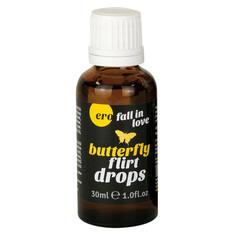 HOT Ero Butterfly Flirt Drops 30 Ml - Krople na libido