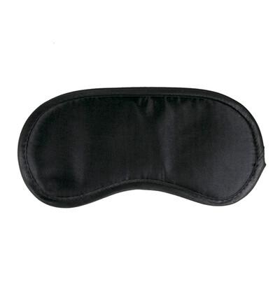 Easy Toys Black Satin Eye Mask - Opaska na oczy, czarna