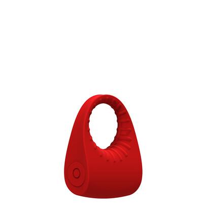Dream Toys Red Revolution Sphinx - Wibrujący pierścień na penisa