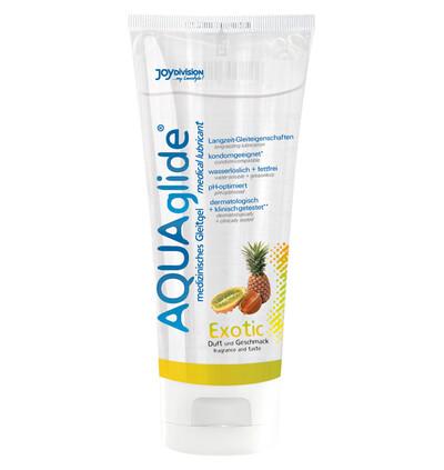 JoyDivision Aquaglide Exotic, 100 Ml - Lubrykant na bazie wody, owocowy