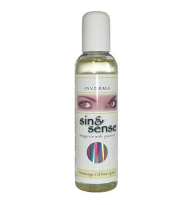 Inverma Sin&Sense Massage Oil Marzipan 150 Ml - Olejek do masażu