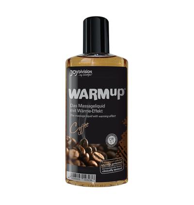 JoyDivision Warmup Coffee, 150 Ml - Rozgrzewający olejek do masażu, kawowy