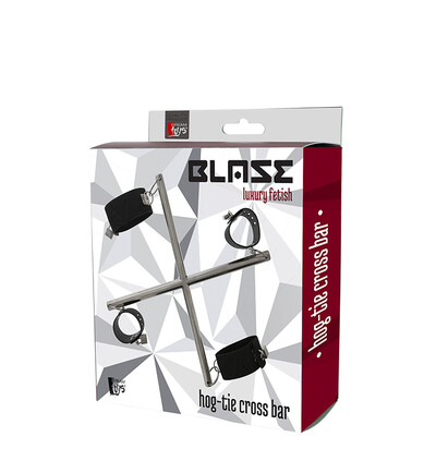 Dream Toys Blaze Hog Tie Cross Bar - System do krępowania