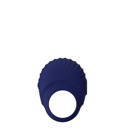Dream Toys Blue Evolution Pallas - Wibrujący pierścień na penisa