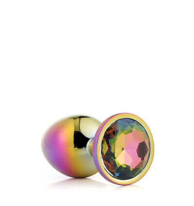 Dream Toys Gleaming Love Multicolour Plug Medium - Korek analny