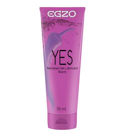 EGZO Yes 50 Ml - Lubrykant rozgrzewający
