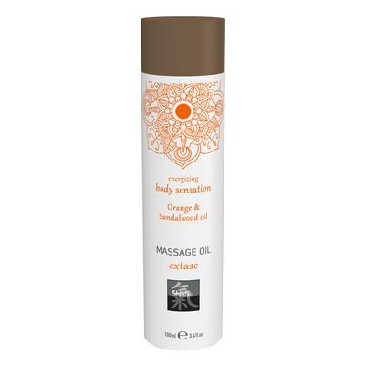 HOT Extase Orange & Sandalwood Oil 100Ml. - Olejek do masażu