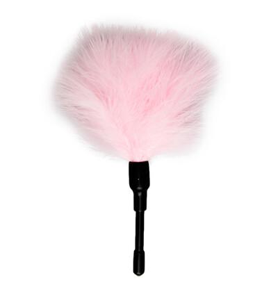 Easy Toys Small Tickler Pink - Piórko do łaskotania, różowe