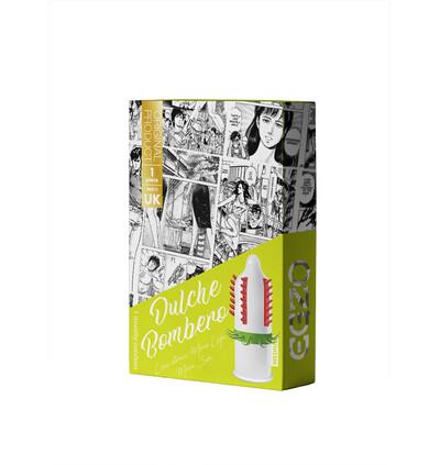 EGZO Dulce Bombero - Prezerwatywa 1szt ze specjalnymi wypustkami