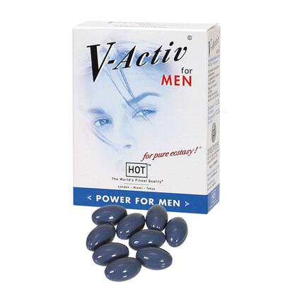 HOT V Activ Caps For Men 20Caps - Kapsułki na erekcję