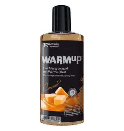 JoyDivision Warmup Caramel, 150 Ml - Rozgrzewający olejek do masażu, karmelowy