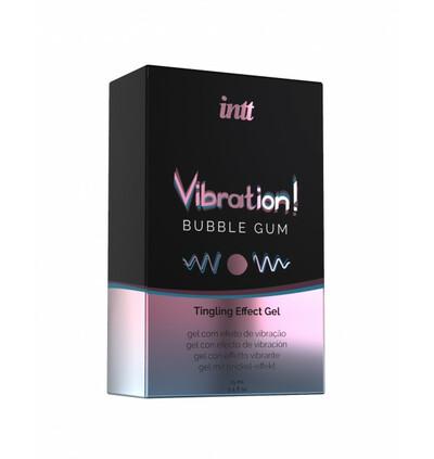INTT Vibration Bubble Gum 15 Ml - Żel stymulujący dla par, guma do żucia