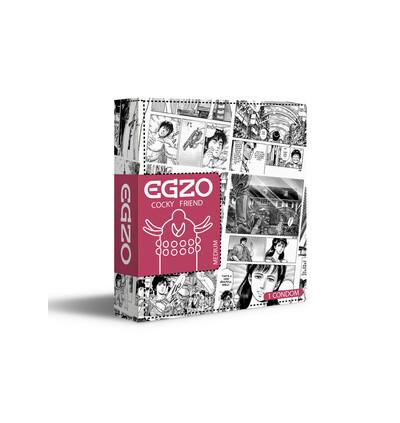 EGZO Uncle Bob - Prezerwatywa 1szt ze specjalnymi wypustkami