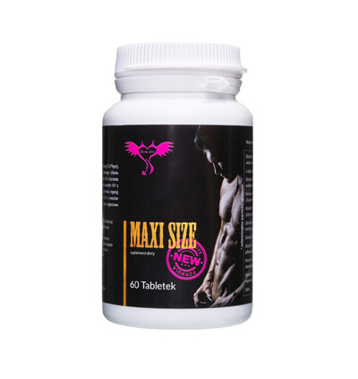 Emily Love Maxi Size 60 Kaps. - Tabletki powiększające penisa