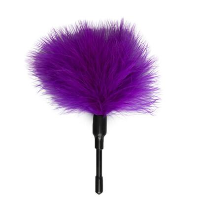Easy Toys Small Tickler Purple - Piórko do łaskotania, fioletowe