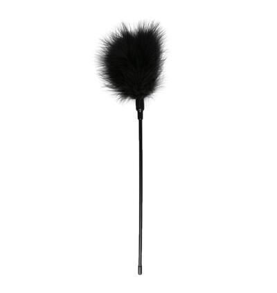 Easy Toys Black Tickler Long - Piórko do łaskotania, czarne