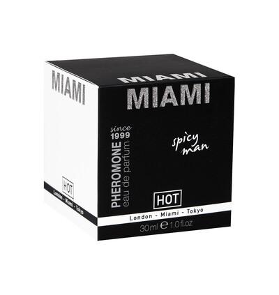 HOT Feromony Pheromon Parfum Miami Spicy Man 30Ml - Feromony męskie