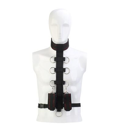 Dream Toys Blaze Deluxe Collar Body Restraint - System do krępowania