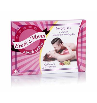 Kulinarna Gra Erotyczna Erotic Menu - Gra erotyczna