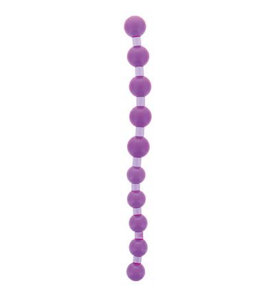 NMC Jumbo Jelly Thai Beads Carded Lavender - Koraliki analne
