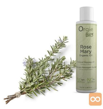 Orgie Bio Rosemary Organic Oil 100Ml - Organiczny olejek do masażu