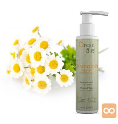 Orgie Bio Chamomile Organic Intimate Gel 100Ml - Organiczny olejek do masażu