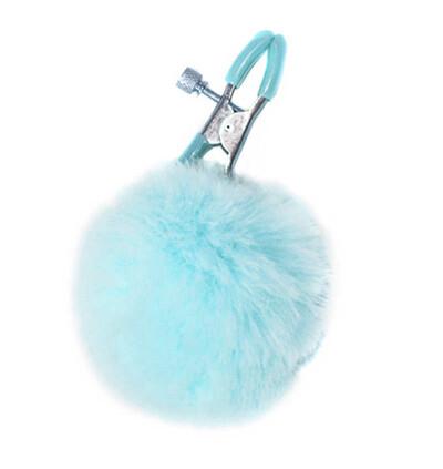 Lola Games Clams Party Hard Angelic Blue - Klamerki do sutków, niebieskie