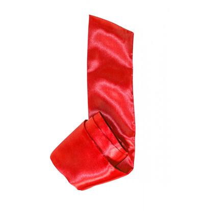 Lola Games Tape Party Hard Wink Red - Szarfa na oczy, czerwona